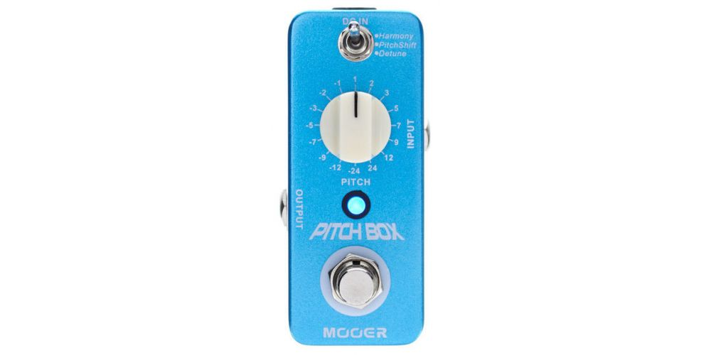 mooer pitch box front
