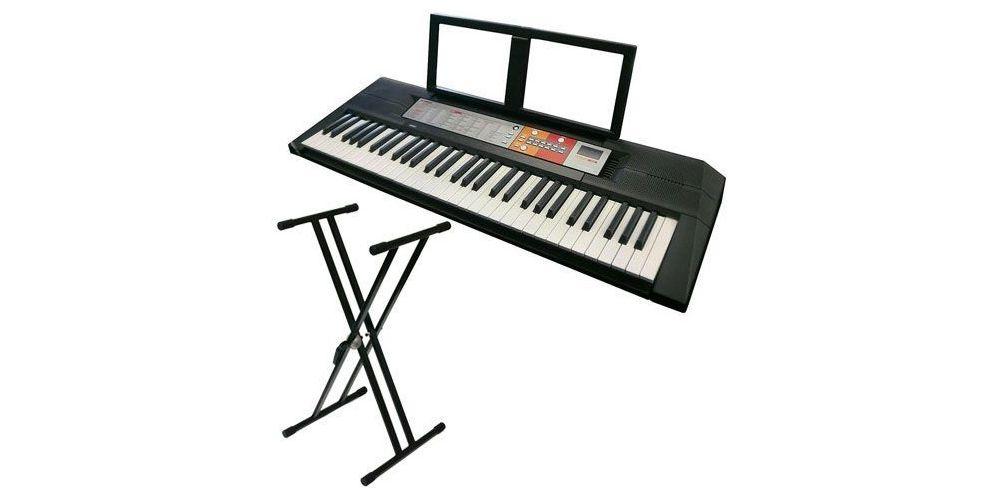 comprar teclado yamaha con soporte tijera