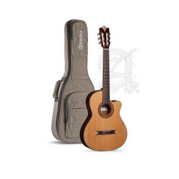 Alhambra CS1-CW-E2 Guitarra Semiacústica + Funda