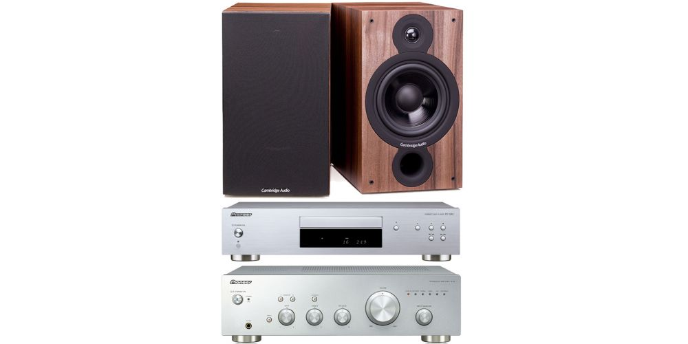 pioneer a10 silver front pioneer pd10ae silver cambridge sx60 walnut