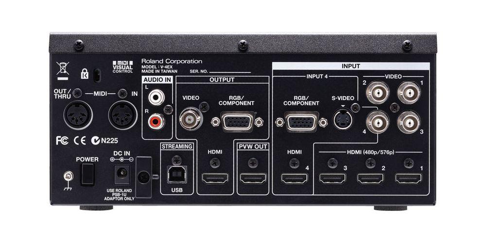 roland v4ex 4ch video mixer comprar