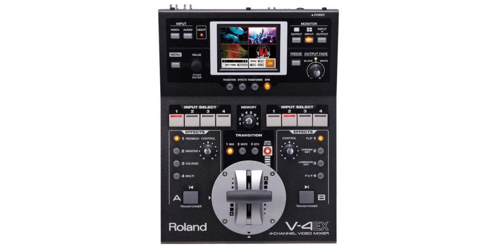 roland v4ex 4ch video mixer precio