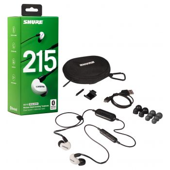 SHURE SE215SPE W BT Auriculares In Ear Bluetooth