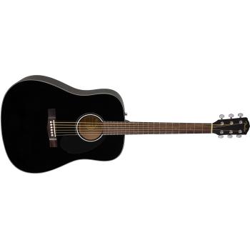 Fender CD-60S Black Guitarra Acústica