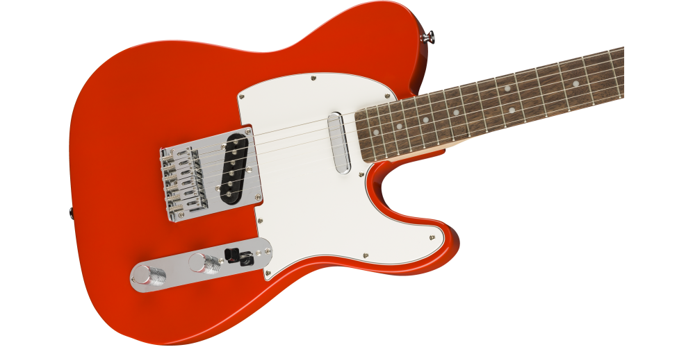 fender squier affinity serie telecaster race red cuerdas