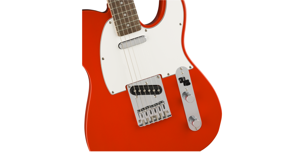 fender squier affinity serie telecaster race red cuerpo
