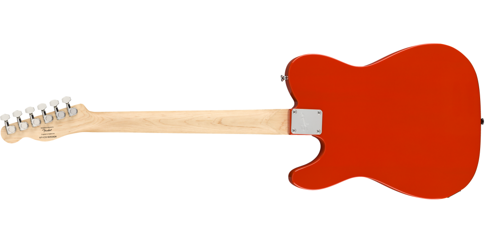 fender squier affinity serie telecaster race red trasera