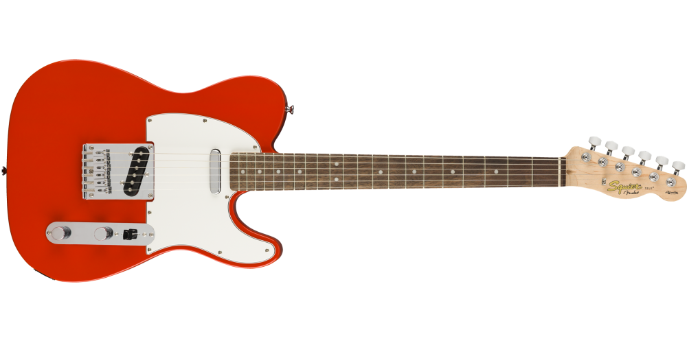 fender squier affinity serie telecaster race red