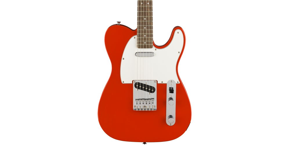 fender squier affinity telecaster race red