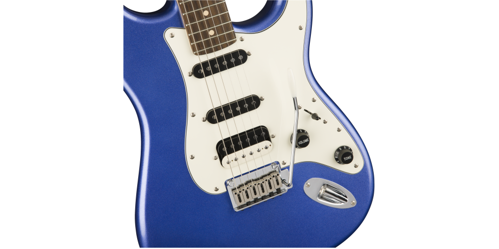 fender squier contemporary stratocaster hss ocean blue metallic cuerpo