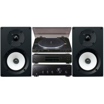 Pioneer A10K+ Plato PL990 + Compact Disc-PD10AE + Onkyo D055