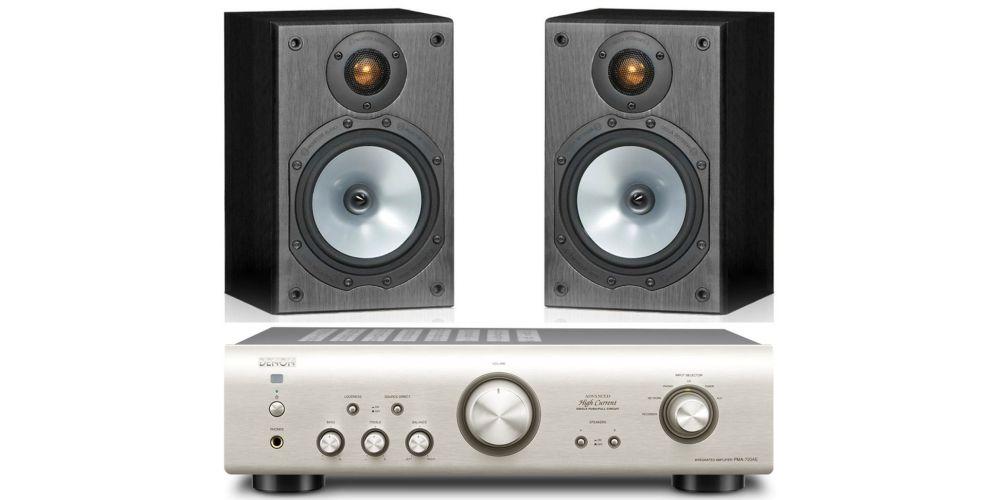 denon pma720s monitor audio mr1 bk