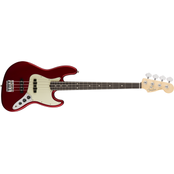 Fender American Pro Jazz Bass Rosewood Fingerboard Candy Apple Red