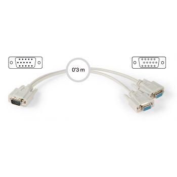 Fonestar 7800 Cable VGA 0,3m