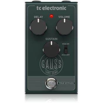 Tc electronic GAUSS TAPE ECHO, Pedal Efectos