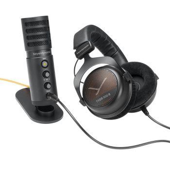 Beyerdynamic Team TYGR , Auriculares TYGR300R+Microfono USB Fox.