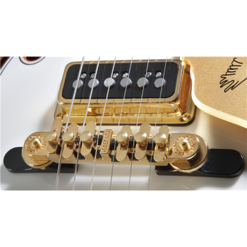 Gretsch Bridge Assembly Synchro-Sonic Gold with Base