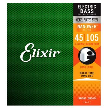 Elixir Nanoweb 14077 Long Scale 45-105