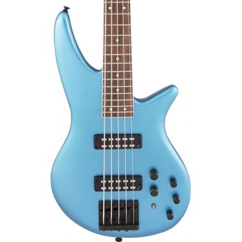 Jackson X Series Spectra Bass SBX V LRL Electric Blue