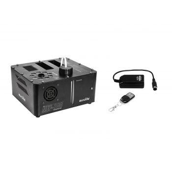 Eurolite Set NSF-100 LED DMX Hybrid Spray Máquina de Humo + WRC-4 Wireless Remote