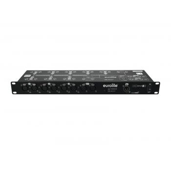 Eurolite DMX Split 8X Splitter DMX 8 Salidas XLR