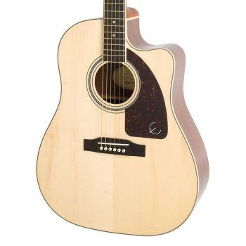 Epiphone AJ-220SCE Natural Guitarra Electroacustica