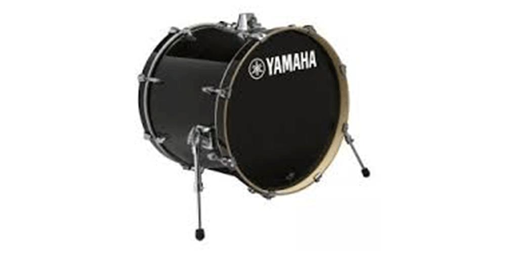 Yamaha Stage Custom Raven Black Bombo 18x15 SBB1815RBL