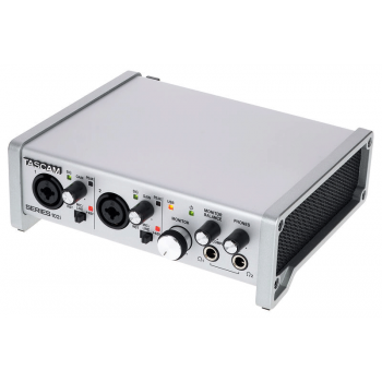 Tascam SERIES-102I Interfaz de audio USB/MIDI con mezclador DSP