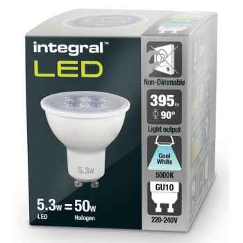 LED BOMBILLA GU10 BOX 5 3f