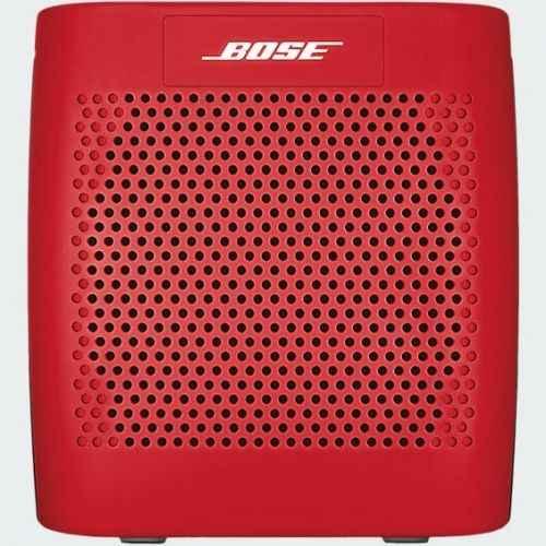 bose soundlink color bluetooth speaker red