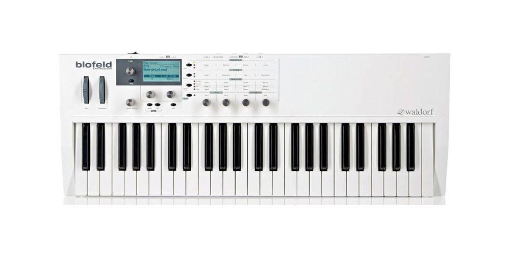 Waldorf Blofeld Keyboard White Sintetizador