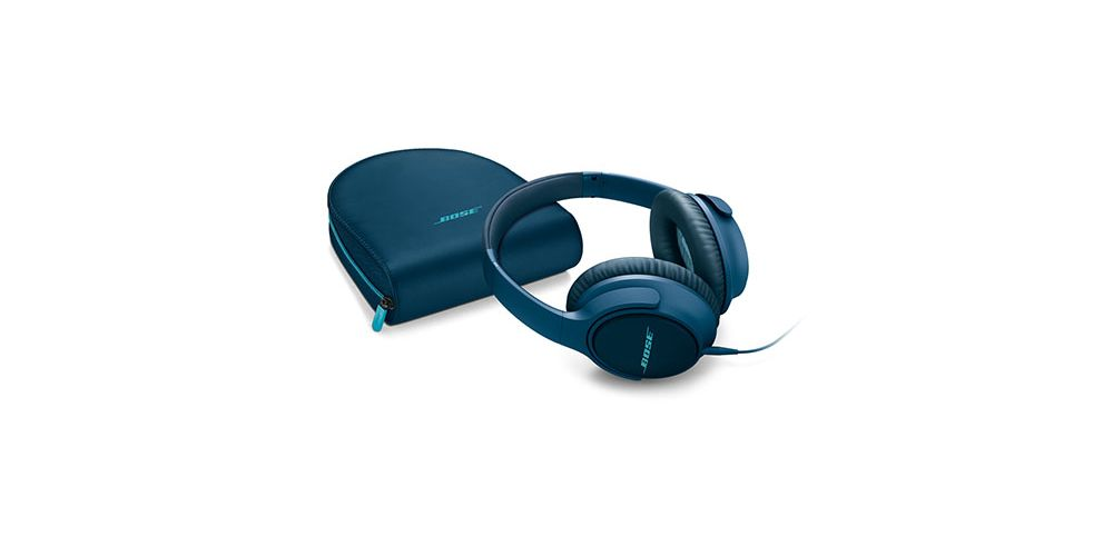 soundtrue ae2 mfi auriculares para iphone azul funda