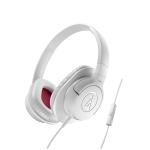 Audio-Technica ATH-AX1iS-WH Auricular Blanco