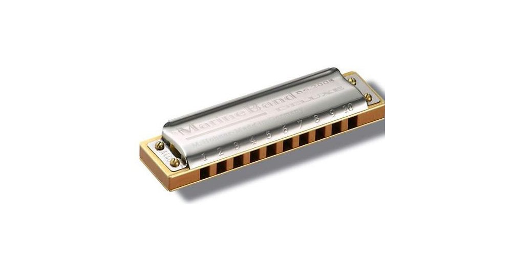 Hohner Armonica Marine Band Deluxe F Major