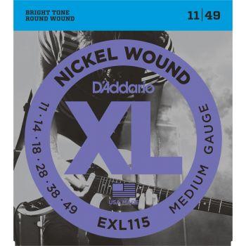 D Addario EXL-115 (011-049) Cuerdas Guitarra Eléctrica