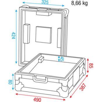 dap audio case for pioneer technics mixer d7379b picture
