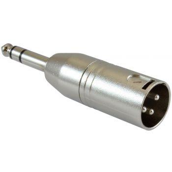 Adaptador JACK Macho Stereo a XLR Macho RF:508