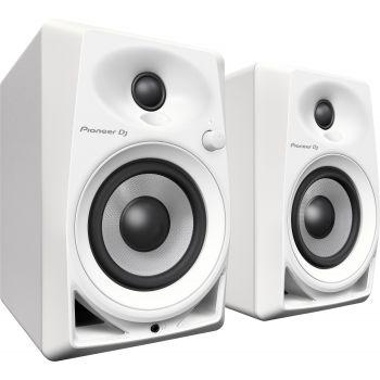 Pioneer Dj DM40 White Monitores Activos Pareja