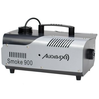 Audibax Smoke 900 Máquina Humo 900W Discoteca Profesional + Mando Inalámbrico