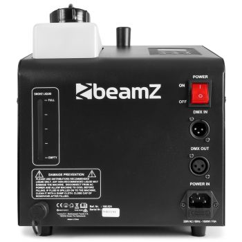 Beamz SB1500 LED Maquina de Humo y Burbujas con Led RGB 160524