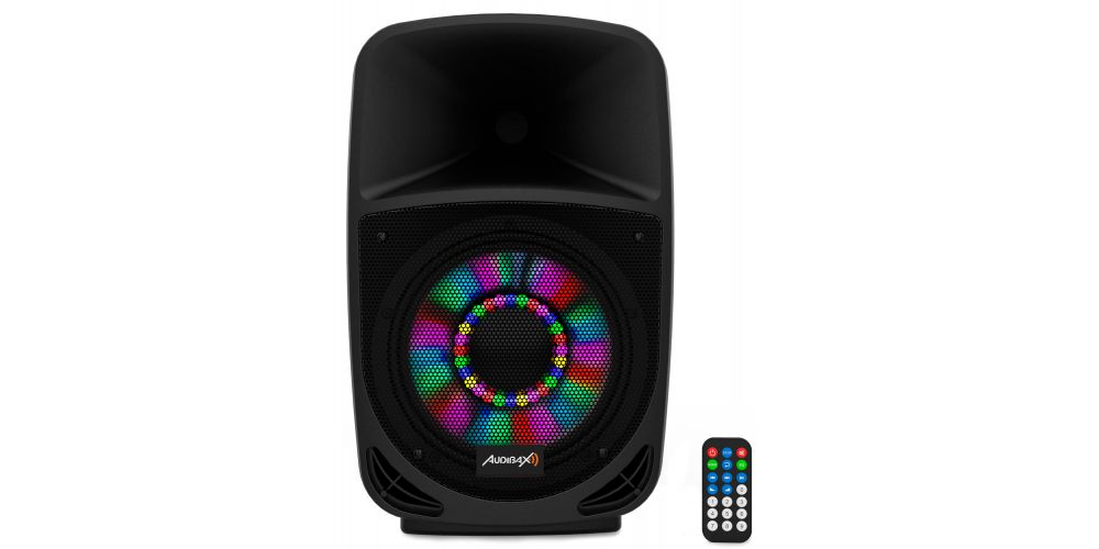 audibax vegas8 altavoz amplificado mando