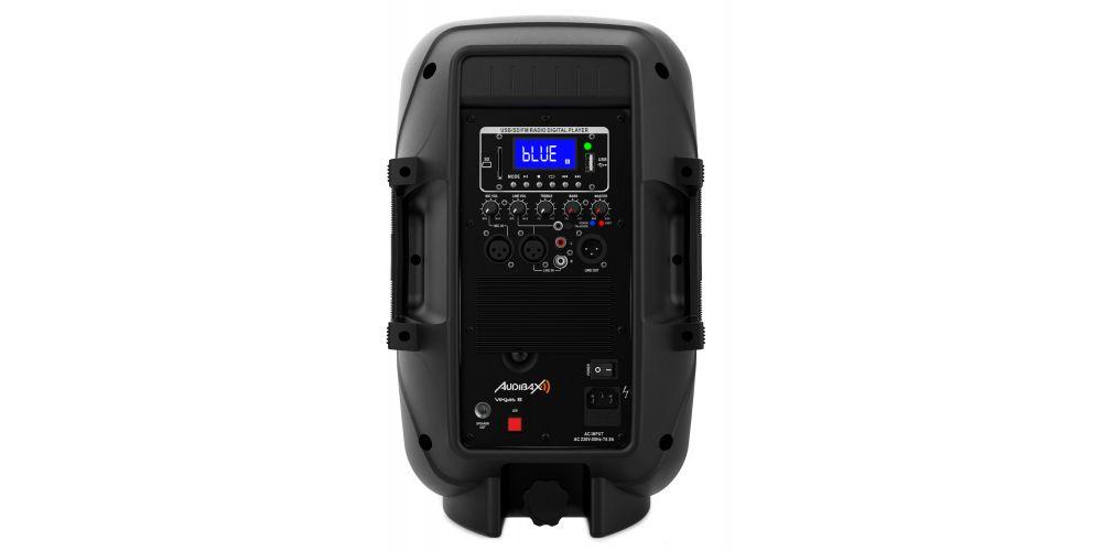 audibax vegas8 altavoz amplificado profesional