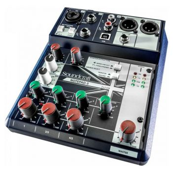 SOUNDCRAFT NOTEPAD-5 Mezclador