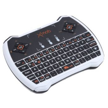 Xmob XControl PRO Mando Teclado QWERTY con TouchPad para Smart Tv ( REACONDICIONADO)