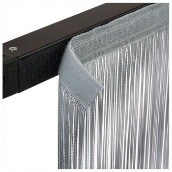 Showtec String Curtain 4h x 3w m Cortina para Escenario Gris 89164