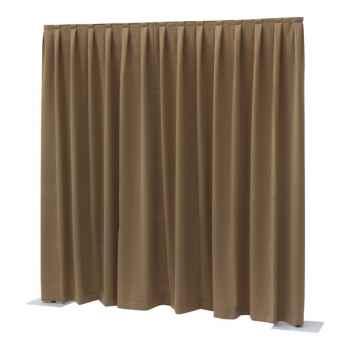 Showtec P D curtain Dimout Cortina Marrón 89453