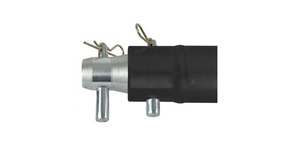 showtec single tube 50mm 25 cm fp50025b