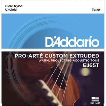 D´addario EJ65T Pro-Arté Custom Extruded Nylon cuerdas para Ukeleles