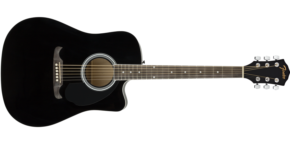 fender fa 125ce dreadnought black comprar