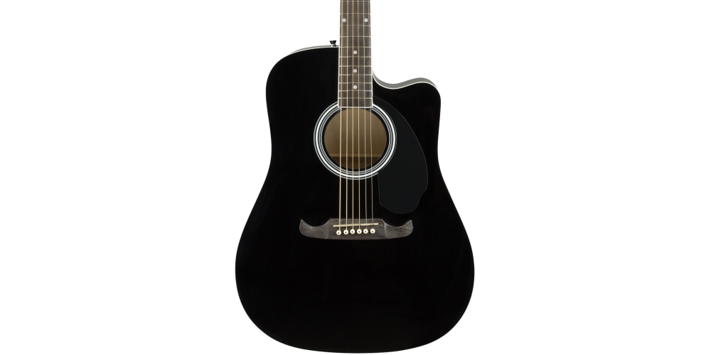 fender fa 125ce dreadnought black oferta